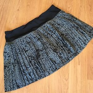 Lululemon pleat the street skirt skort watermark